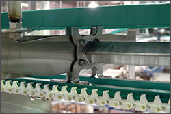 NeXtgen Table Top Sanitary Conveyor Open Frame Design