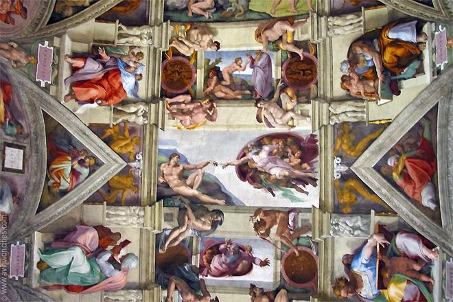 Ceiling-Fresco-Sistine-Chapel-Vatican-Museums