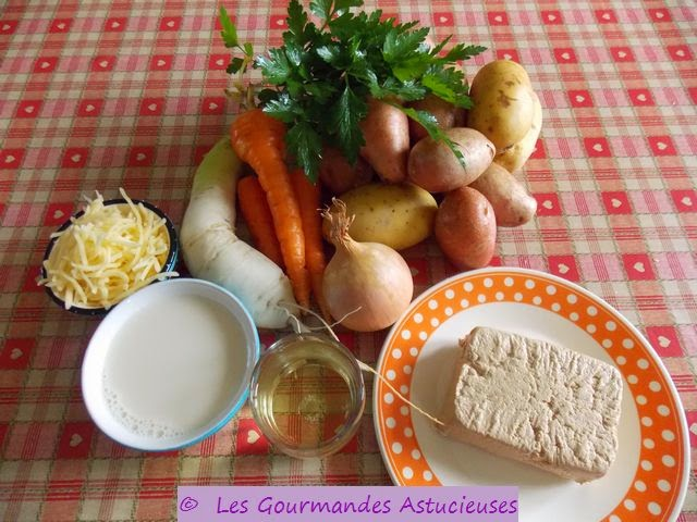 Les gourmandes astucieuses cuisine v g tarienne bio saine et gourmande faite maison hachis - Hachis parmentier maison pour 2 personnes ...
