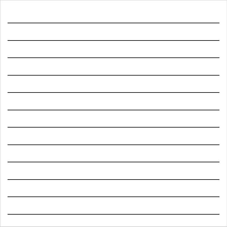 Lined Paper Background For Word On word and publisher.