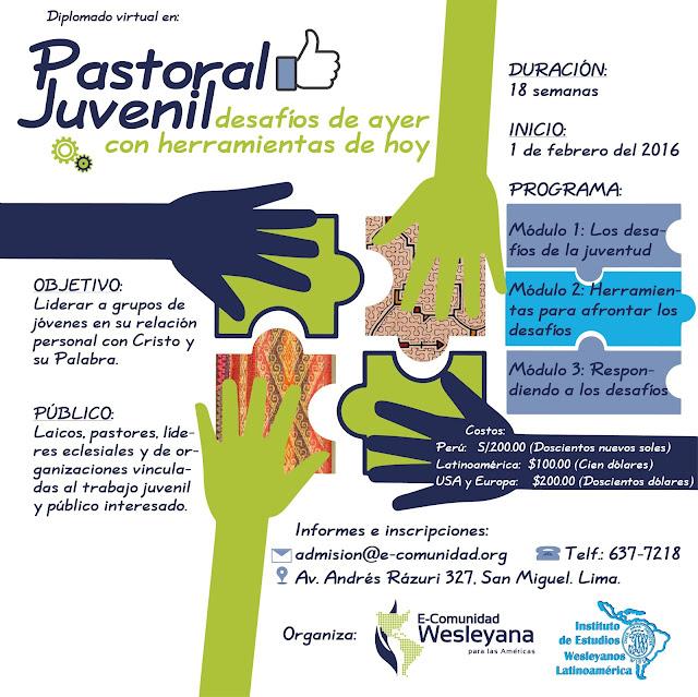 Diplomado virtual en Pastoral Juvenil
