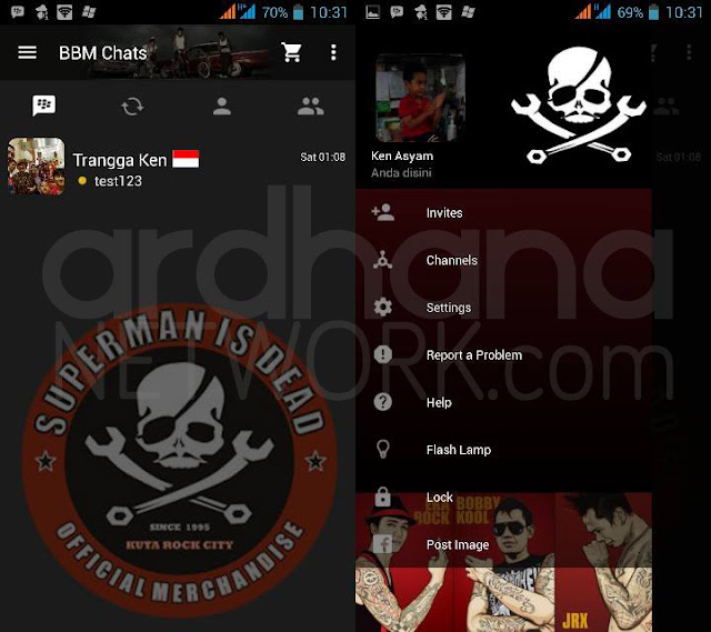 Preview BBM Superman Is Dead