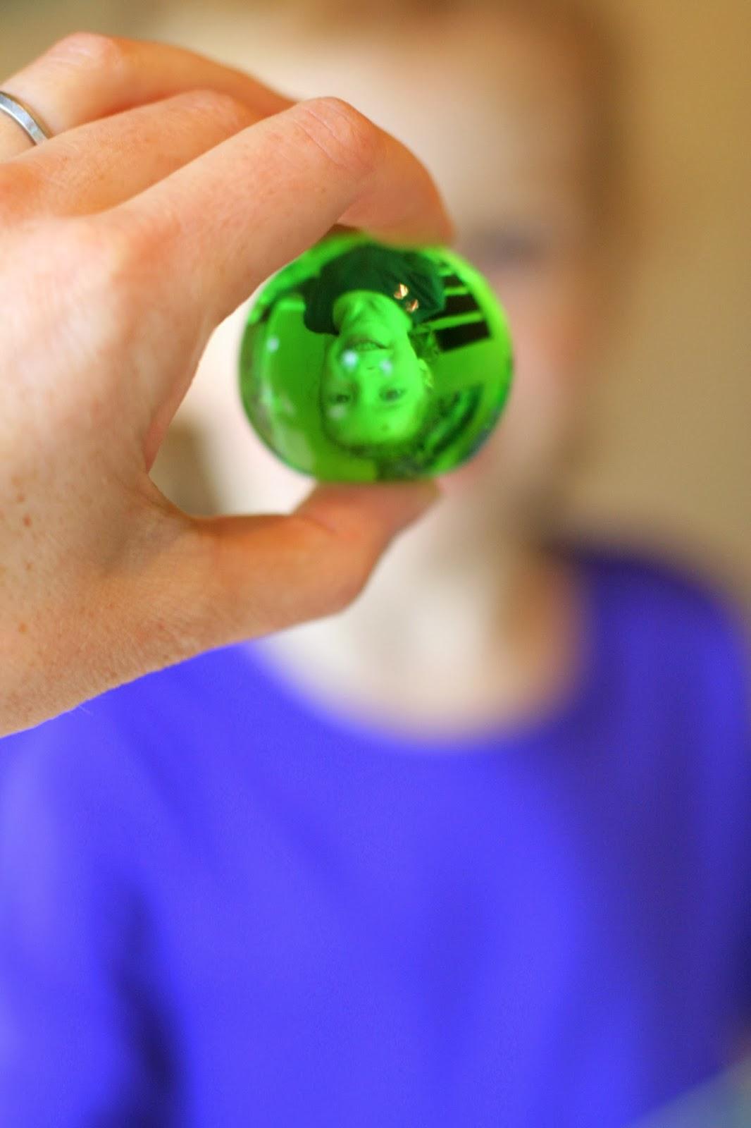 Water BeadsHalloween Eyeball Sensory Bin