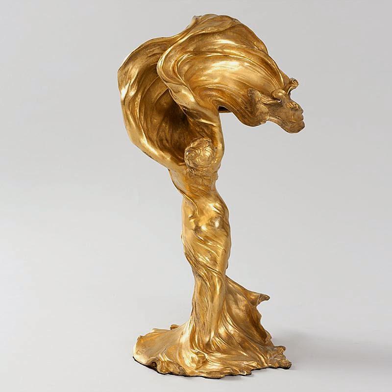 Raoul Larche, Loie Fuller, Art Nouveau