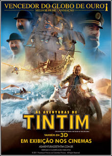 Download - As Aventuras de Tintim - O Segredo do Licorne DVDRip - AVi - Dual Áudio