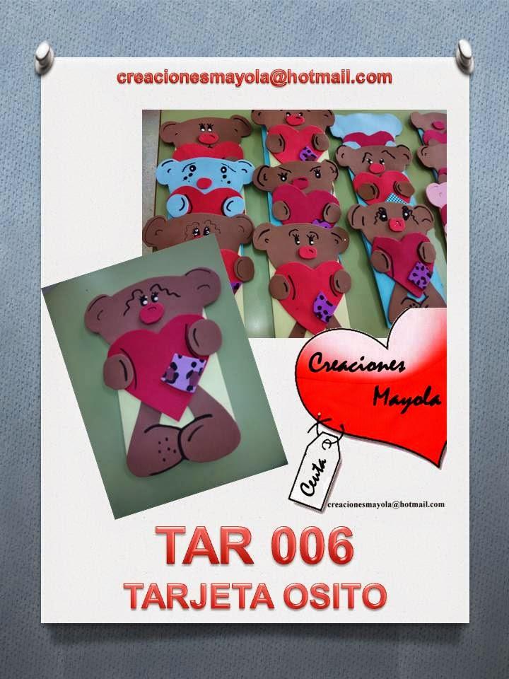 Creaciones mayola felicitaci n para pap tarjeta osito for Puertas decoradas de navidad trackid sp 006