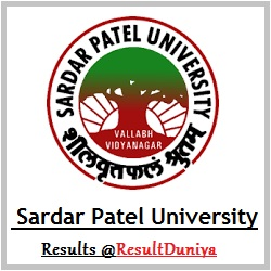 Sardar Patel University FYBA SYBA TYBA External Result