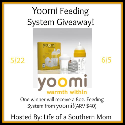 Yoomi Feeding System Giveaway