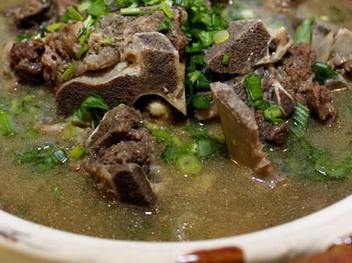 Resepi hari ini ~Sup Tulang