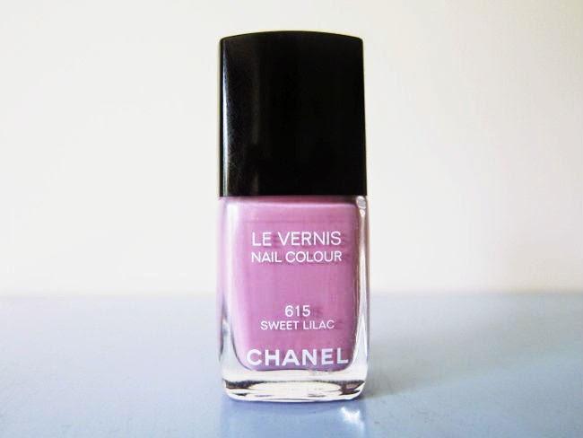 Chanel Sweet Lilac Le Vernis Nail Polish