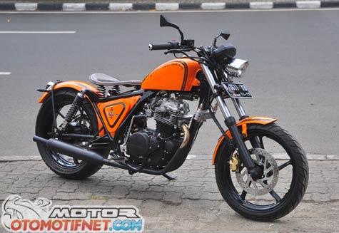 Modifikasi Kawasaki Binter Merzy Desain Modern Classic