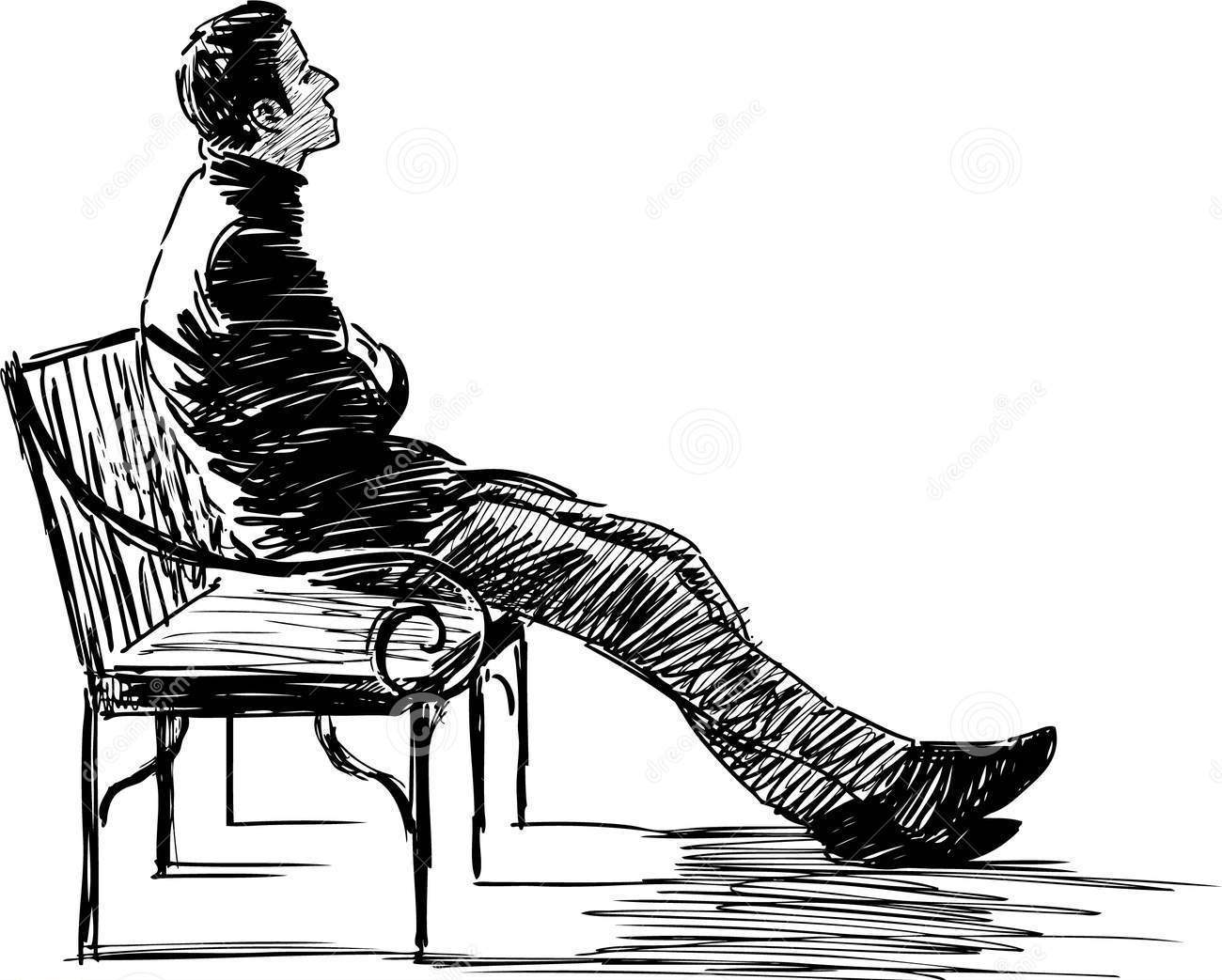 Innocent thoughts of a guilty man september 2015 - Cartoon girl sitting alone ...