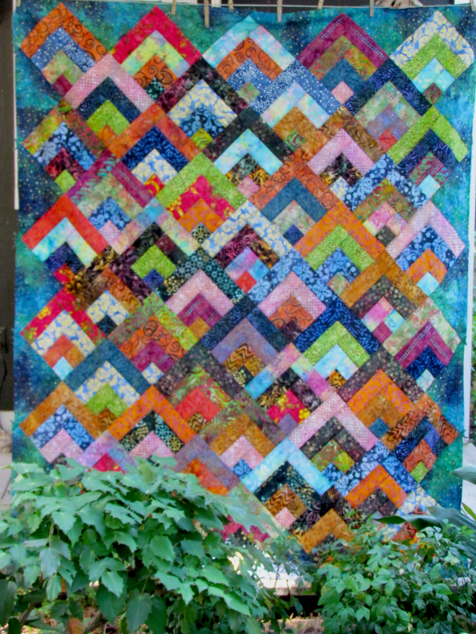 Zig Zag Love Quilt Pattern : North Louisiana Quilters: