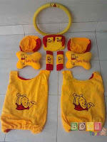 Bantal Mobil 6 in 1 The Pooh