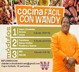 Vamos a Cocinar con Wandy Robles