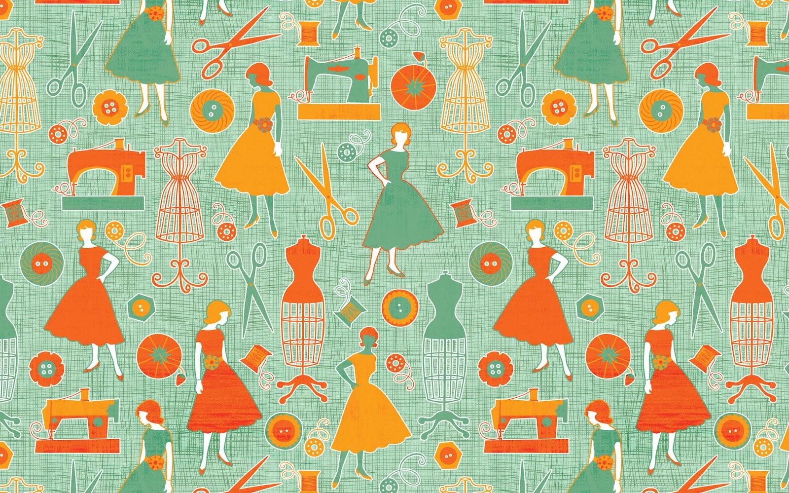 Jennifer wambach design and illustration i heart fabric for Fabric designs