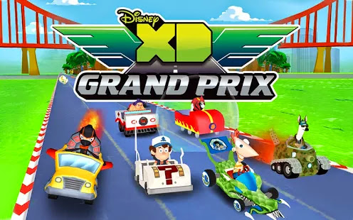 Disney XD Grand Prix v1.0 APK OBB Android