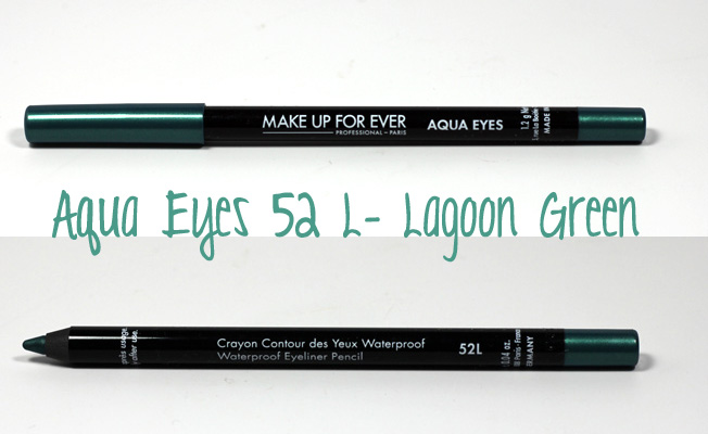 Make Up For Ever Aqua Eyes Lagoon Green