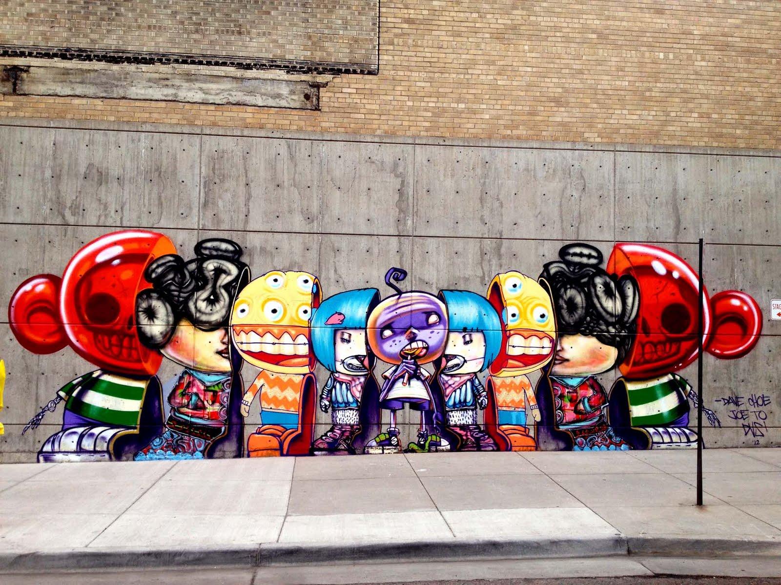graffiti mural art - graffiti murals in los angeles - mural graffiti art - david choe painter