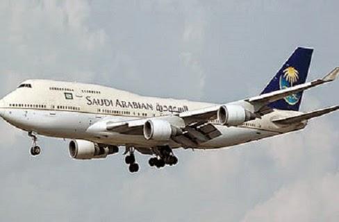 صورة مضيفة الخطوط الجوية السعودية الذى أشعلت توتير والفيسبوك