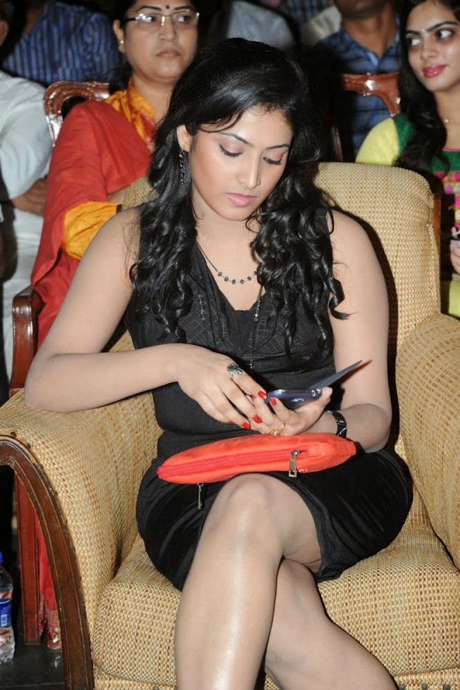 Hari Priya Hot Photos in Short Dress at Prema Ishq Kadhal Movie Audio Launch