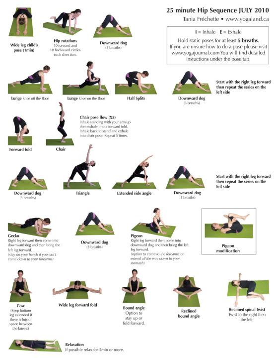 hip flexors nerve