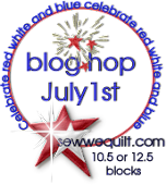 R/W/B Blog Hop Schedule