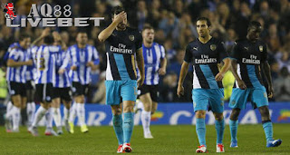 Agen Piala Eropa - Sheffield Wednesday secara mengejutkan berhasil menang 3-0 atas Arsenal pada babak keempat Piala Liga Inggris