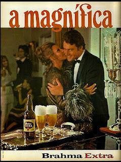 propaganda cerveja Brahma Extra - 1970