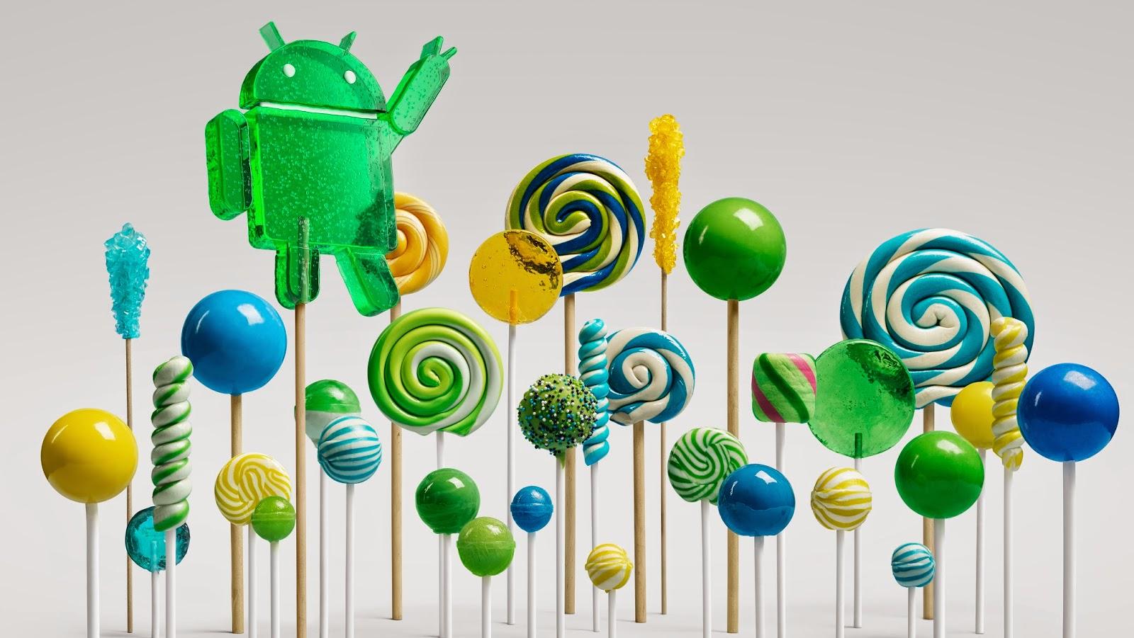 fitur unggulan android lollipop