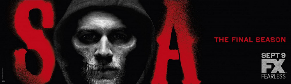 Sons of Anarchy - Season 7 - Promotional Key Art Banner