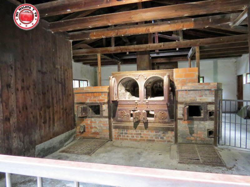 Crematorio en Campo Concentración Dachau, Alemania