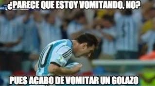 Los Memes del Triunfo Argentino, Mundial Brasil 2014