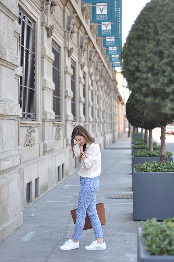 aleksandra skorupan, velvet and milk blog, michael kors, adidas superstar, zara