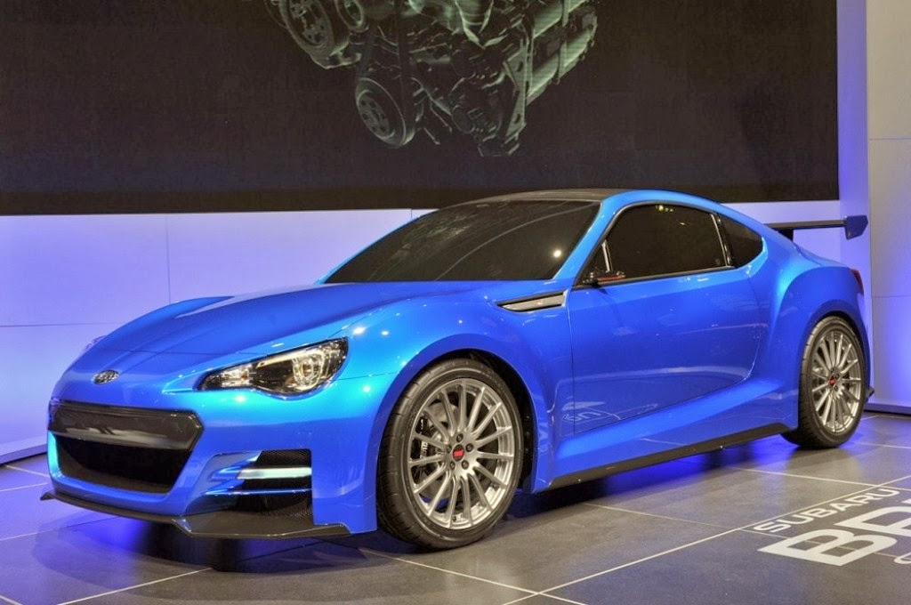 Subaru BRZ Roadster 2016 Future Car