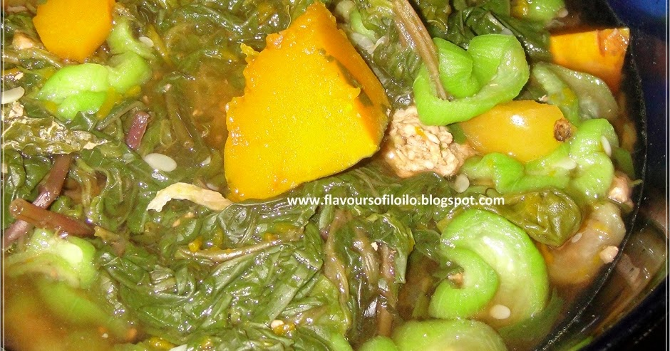Ginisang Alugbati, Kalabasa at Patola - Flavours of Iloilo 2018-04-28 17:00