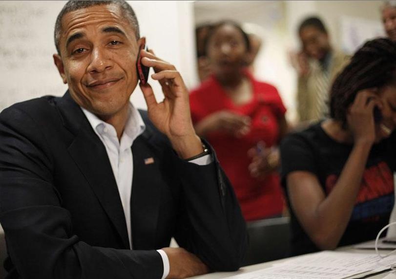 barack obama, eua, eleiçoes, politica, humor imagens, barack obama ao telefone, mitt romney, obama wins, 20 fotos que provam que barack obama é um cara legal, eu adoro morar na internet