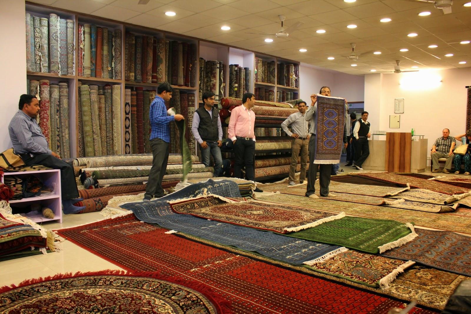 Jaipur: indiai szőnyegek