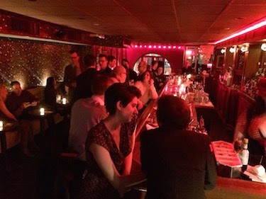 Chuck and Lori's Travel Blog - Swing 46 Jazz and Supper Club, New York, NY