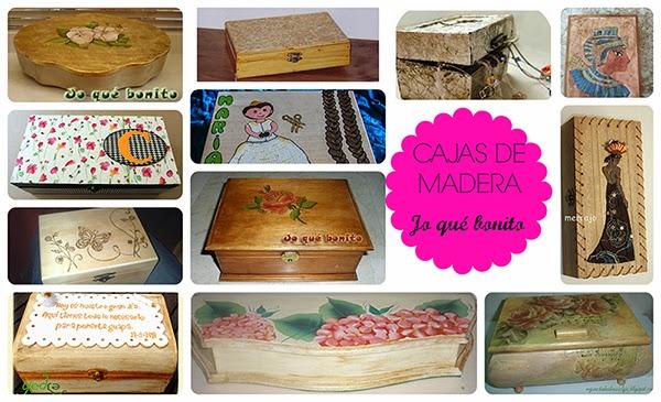 Facilisima manualidades imagui - Manualidades cajas madera ...