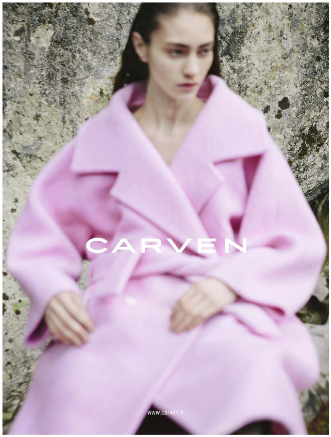 Marine Deleeuw by Vivianne Sassen for Carven