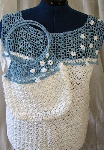 Donnas Crochet Designs Blog of Free Patterns: White Top ...