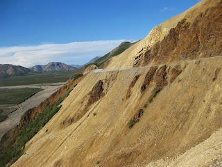 Denali National Park road