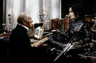 Edward con su creador.
