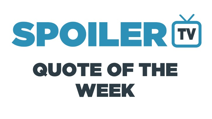 Quote of the Week - 6th April 2014