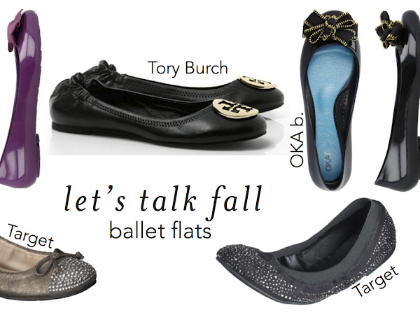 Let's Talk Fall: Ballet Flats