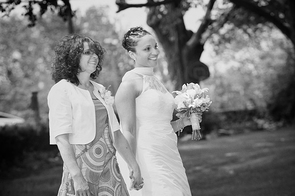 kirkbrae wedding: mother and bride