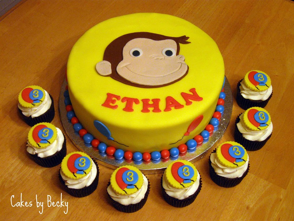 Curious George Making A Cake