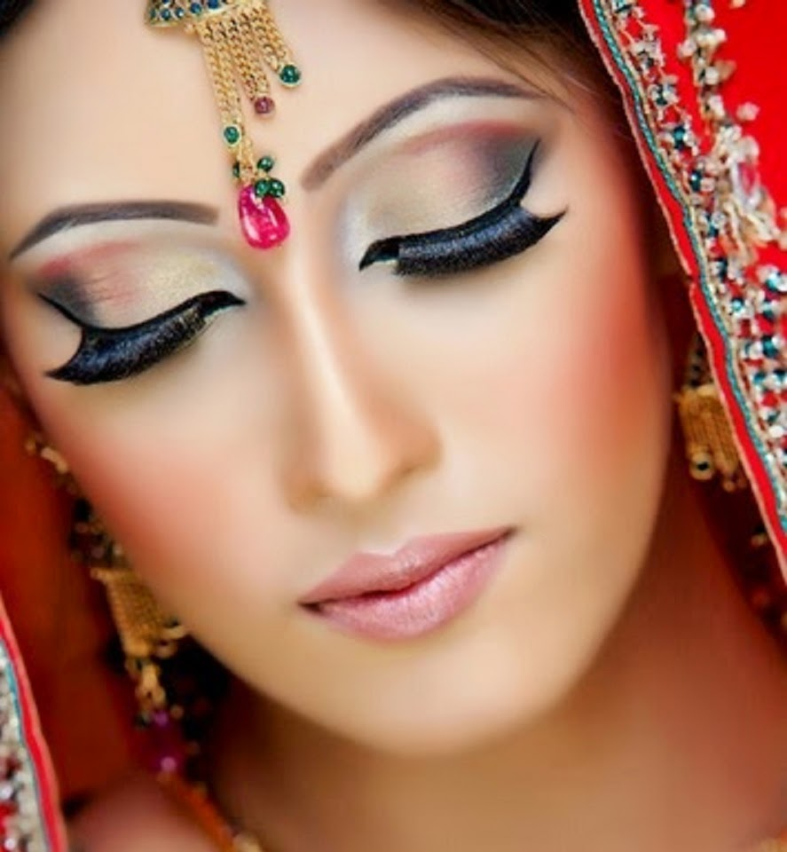 Most Popluar And New Look Bridal Wedding Makeup 2014 2015 Wallpapers Free Download