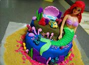 Celeste's Disney Ariel Cake